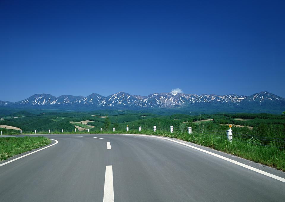 rural road in japan