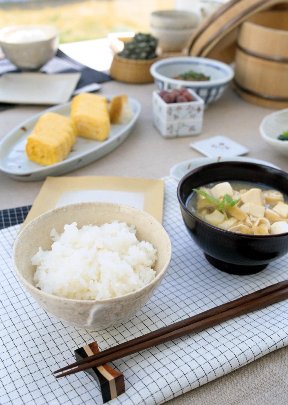 Petit-déjeuner japonais traditionnel de
