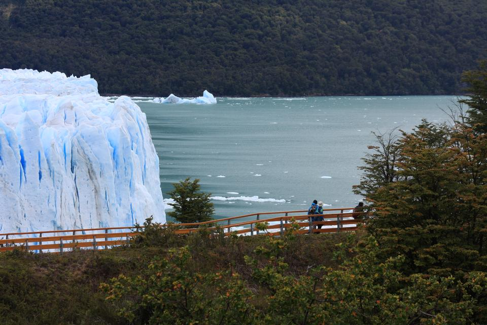 テラ·デル·フエゴ、アルゼンチンの氷河モレノ