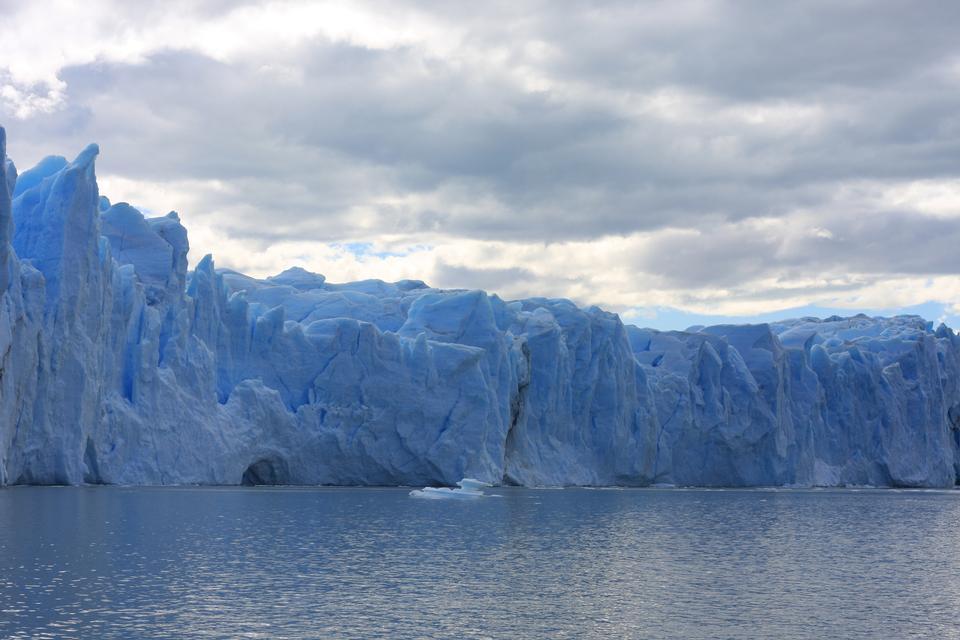 莫雷諾冰川在兵馬俑地島阿根廷