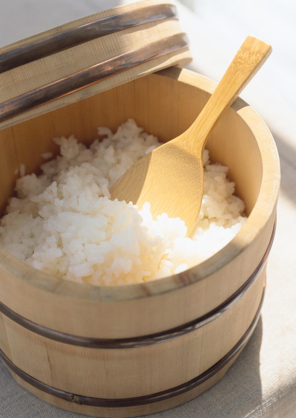 Faire une image de riz à sushi