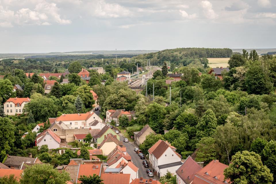 壞Belzig的老城區