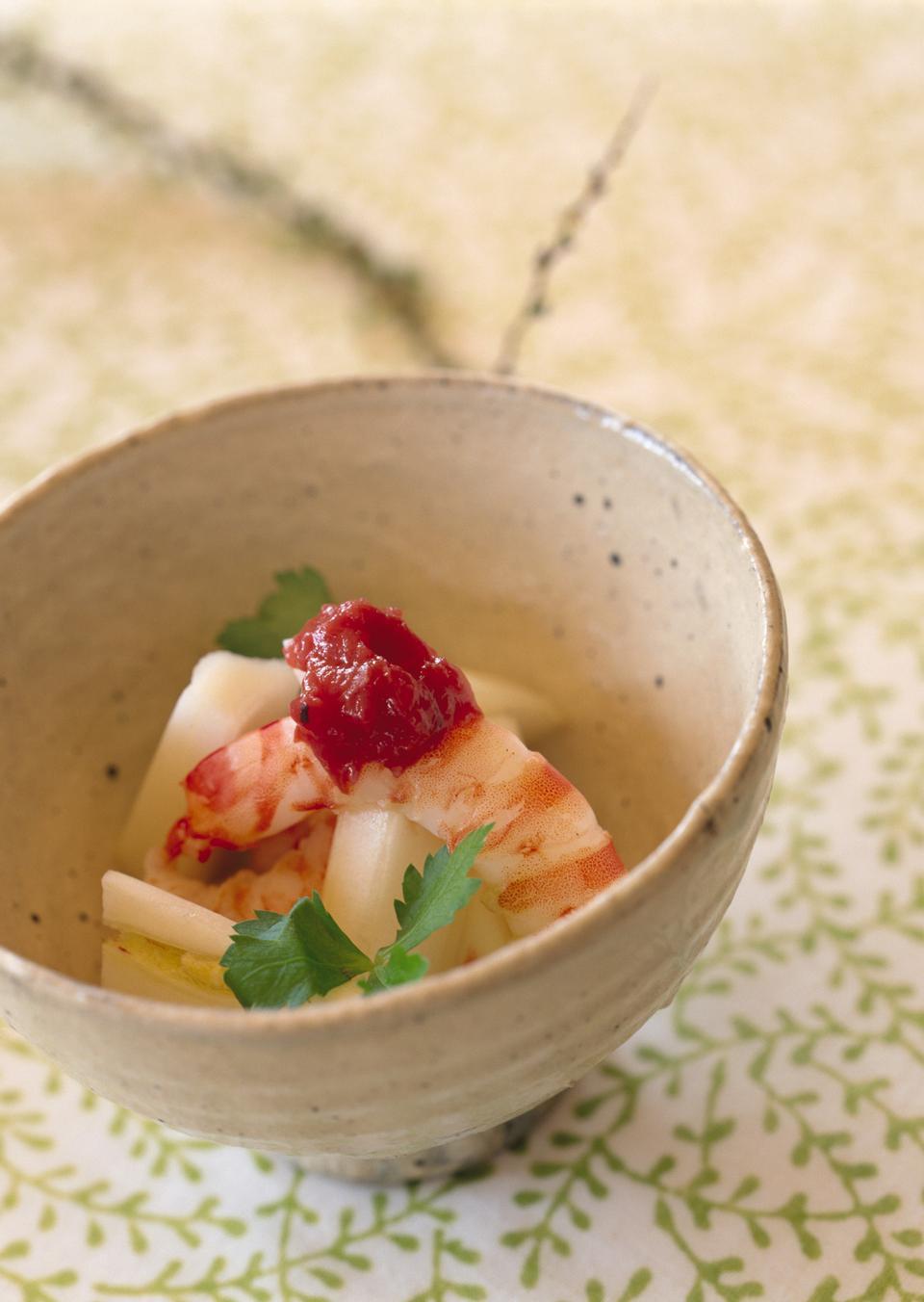 sashimi roher Fisch Meeresfrüchte Reisschüssel - japanische Küche