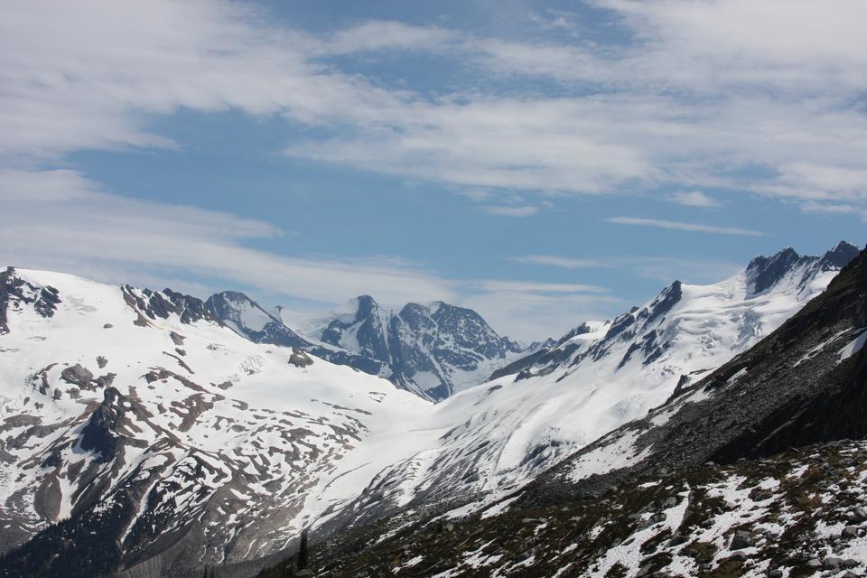 ロッキー山脈とカナダの荒野