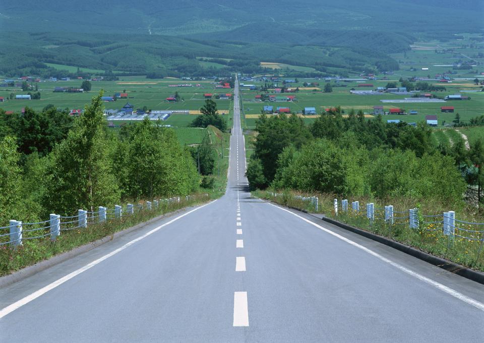 일본의 시골 길