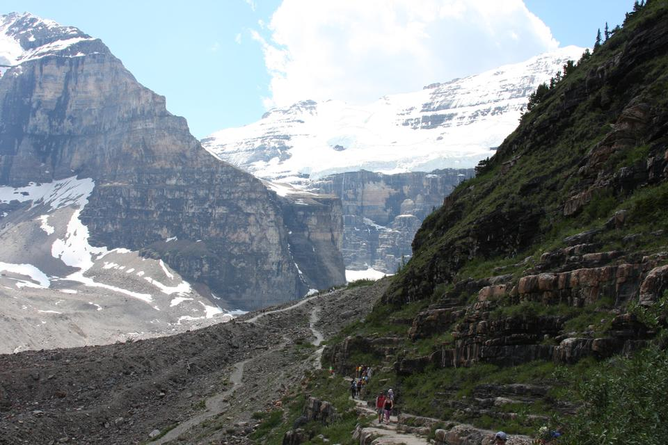 Plain of Six Glaciers Trail, Lake Louise, Banff National Park