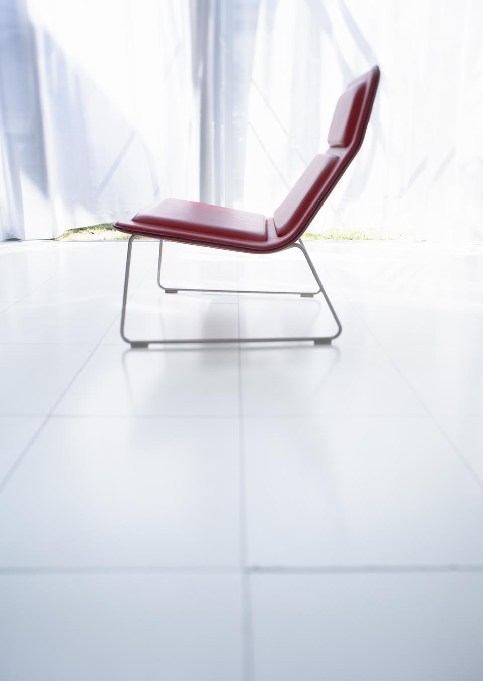 Comfort chair background big window