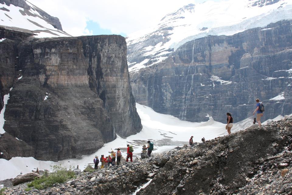 식스 빙하 트레일, 레이크 루이스, 밴프 국립 공원의 일반