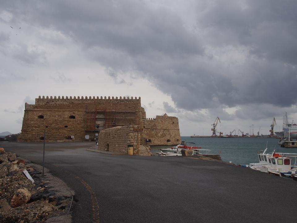 Koules fortezza veneziana a Heraklion, Creta