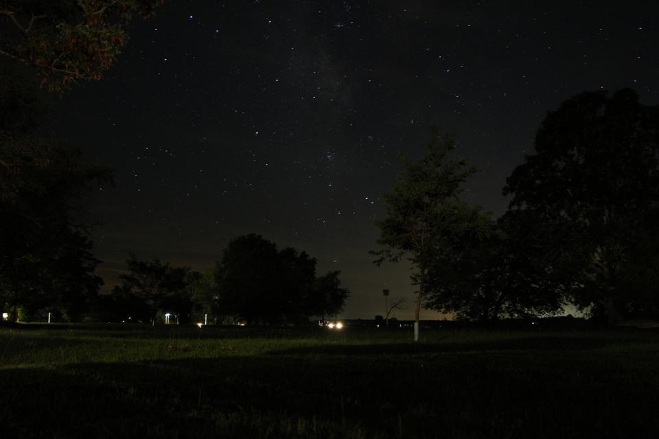 夜空中星星
