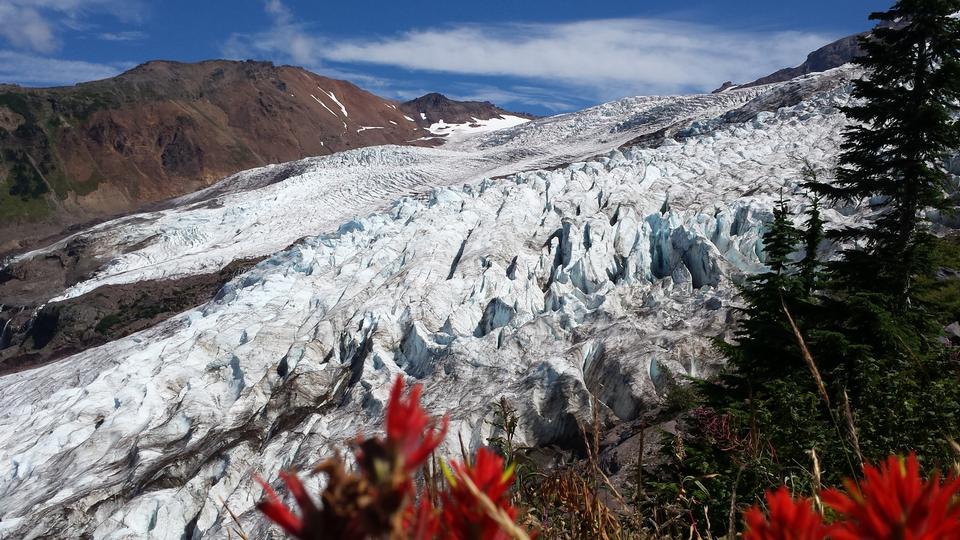 Coleman Glacier Mt. Baker Washington