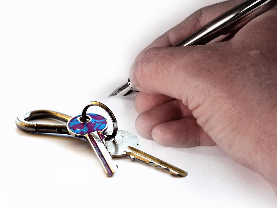 Client Unterzeichnung des Hypothekenkreditvertrag