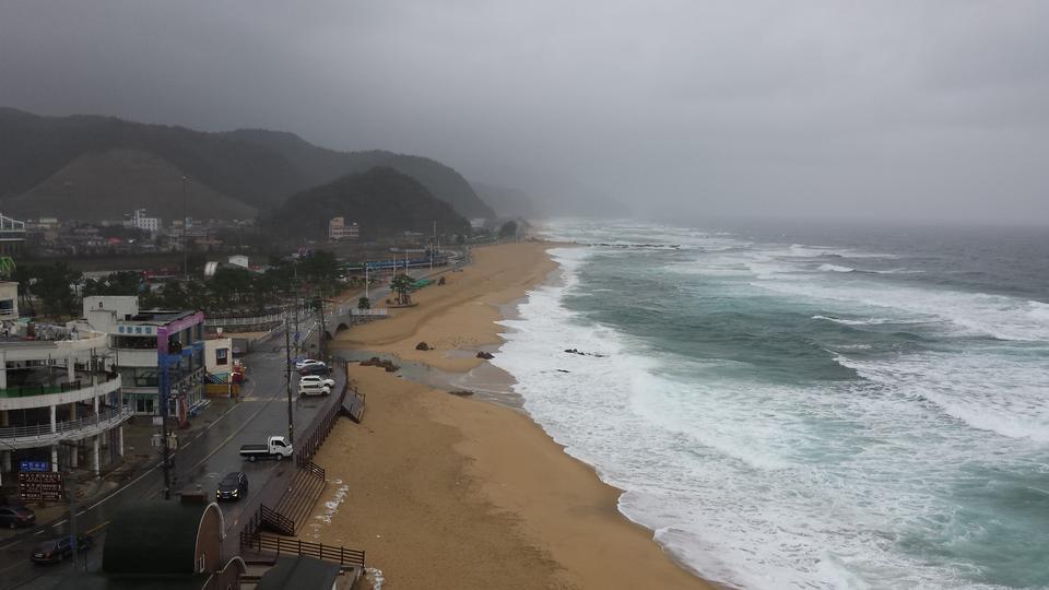 热带海滩蔚珍韩国