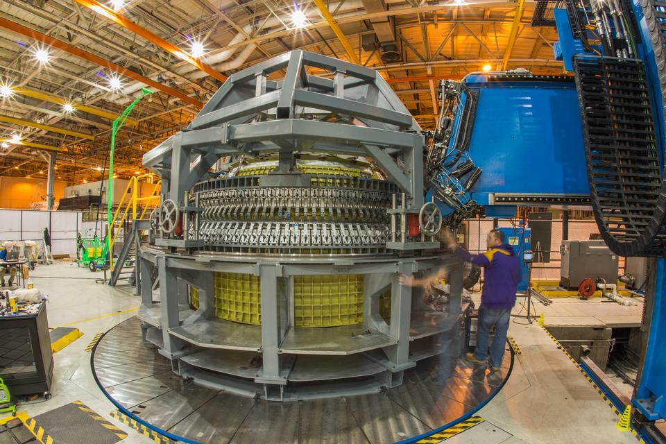 Orion spacecraft Pressure Vessel