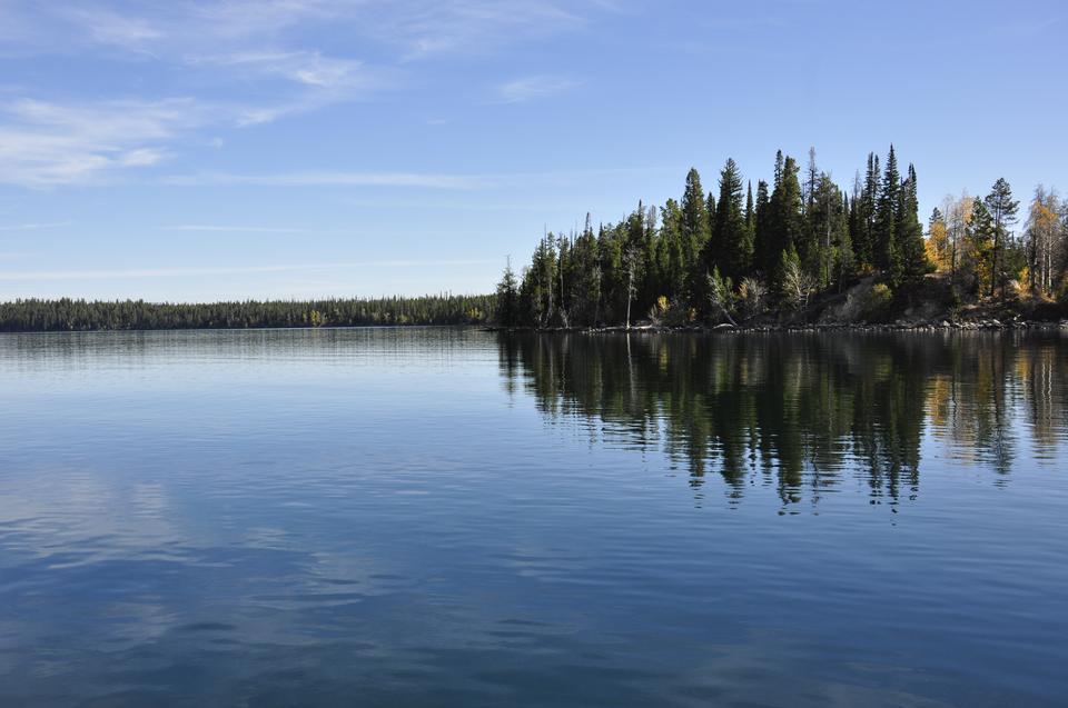 Jenny Lake a Grand Teton National Park, Wyoming