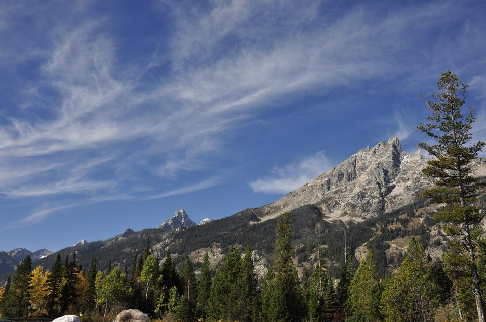 Dramatic Sky over Beautiful Cascade Canyon - Grand Tetons