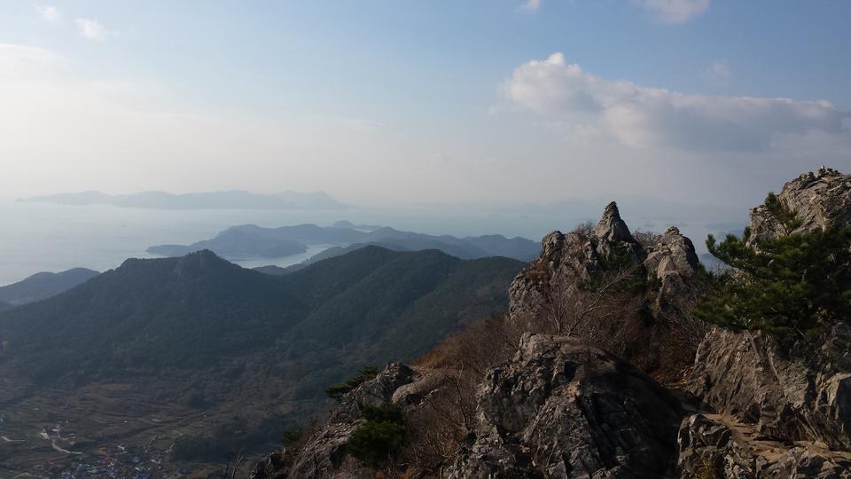 Tongyeong of South Sea offshore Korea
