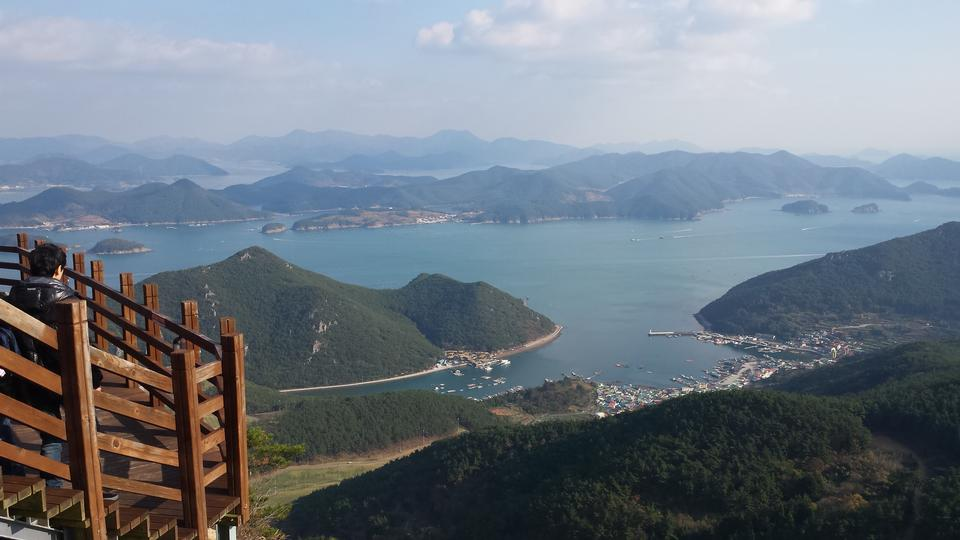 Tongyeong of South Sea offshore Korea
