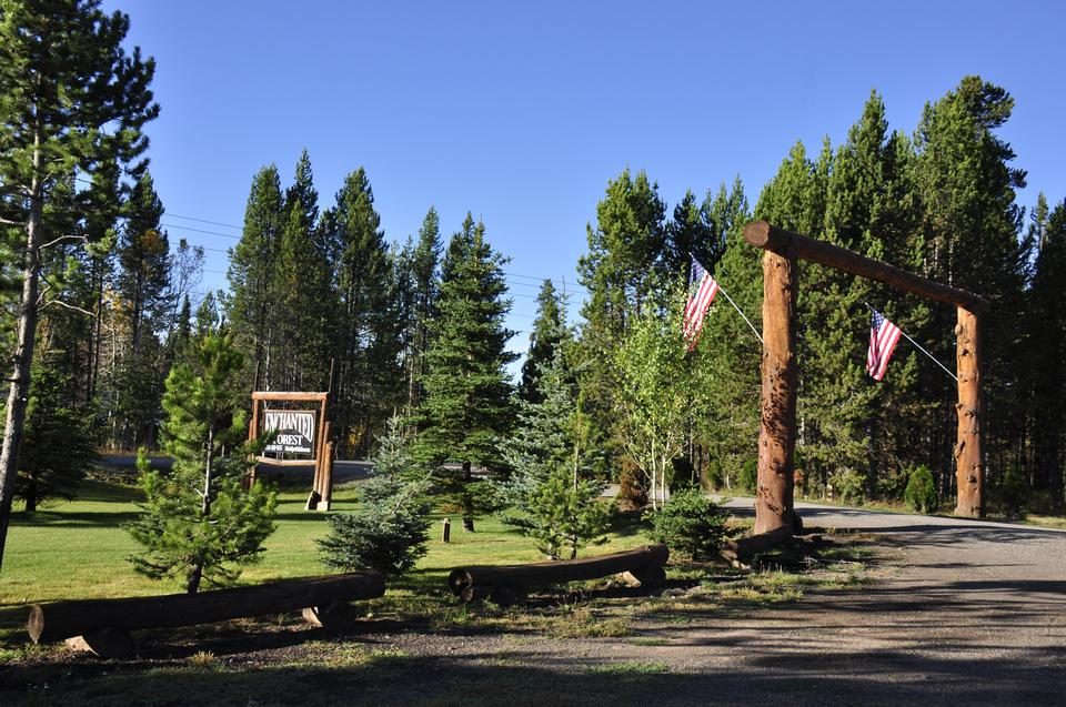 Yellowstone National Park visitor center