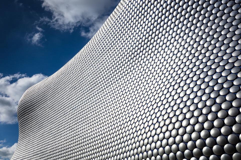 Birmingham's Bull Ring Shopping center