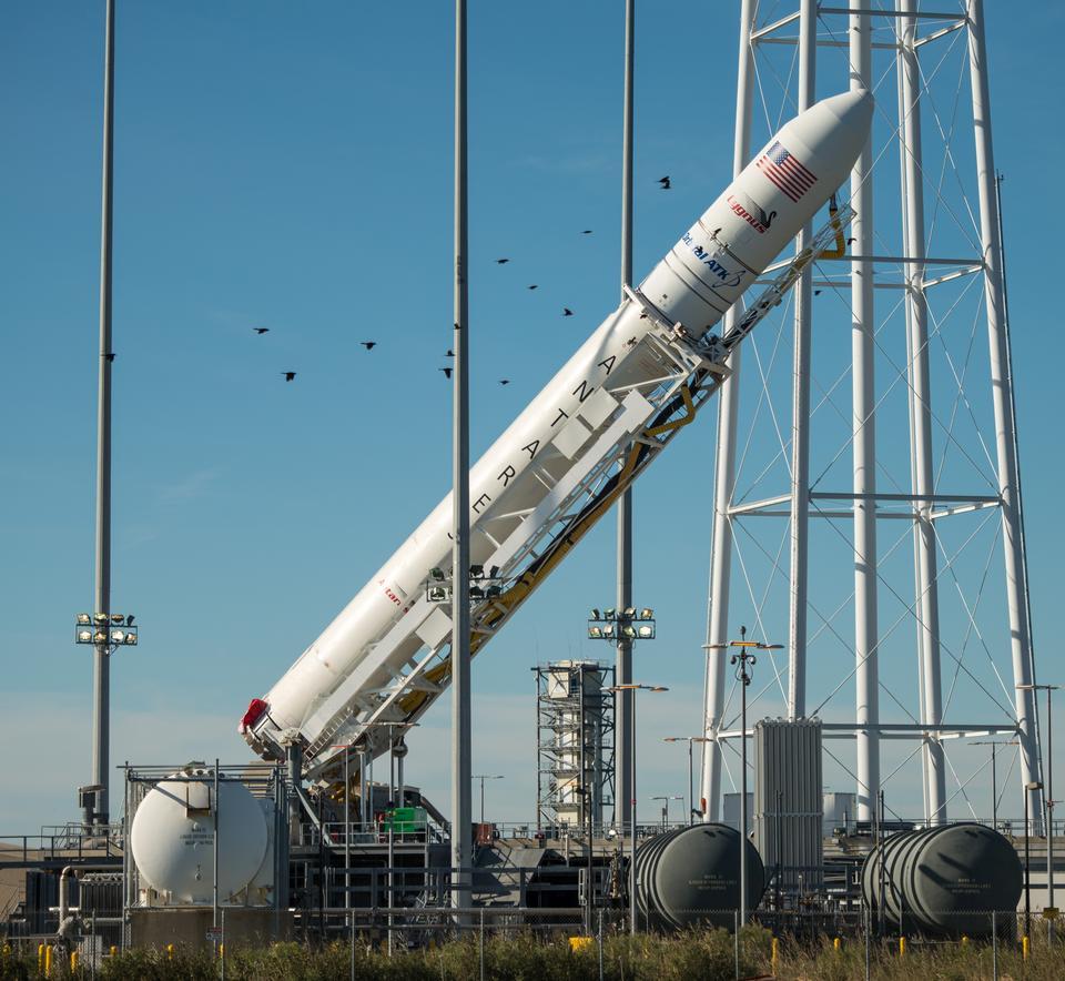 Ракета Орбитальный АТК Antares