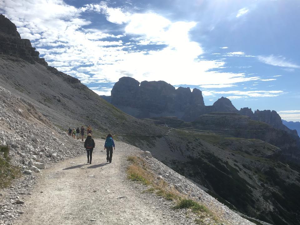 Passo Giau  - 白雲石 - 意大利