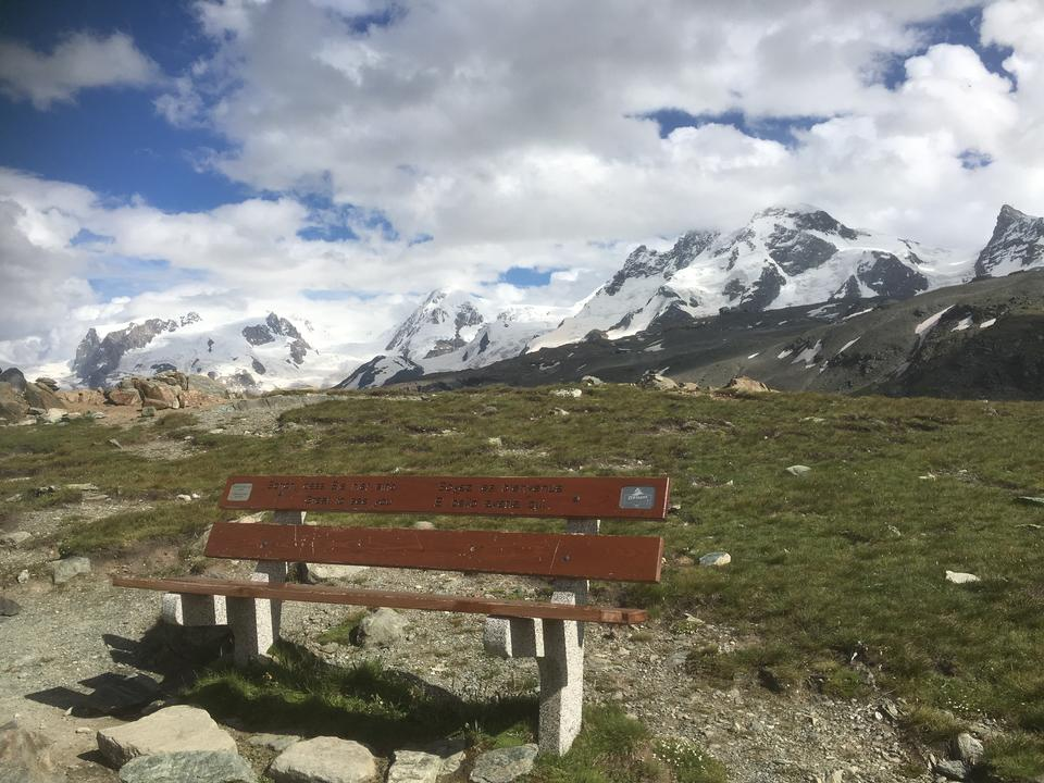 beautiful Mount Matterhorn in the Swiss Alps