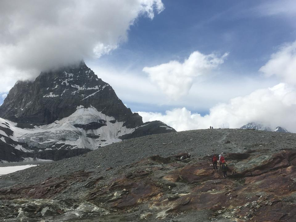 hiking around the Matterhorn, Zermatt, Switzerland