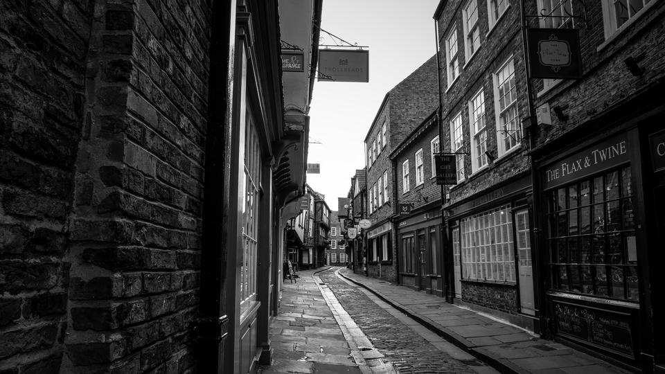 The Shambles is a former butchers' street in York