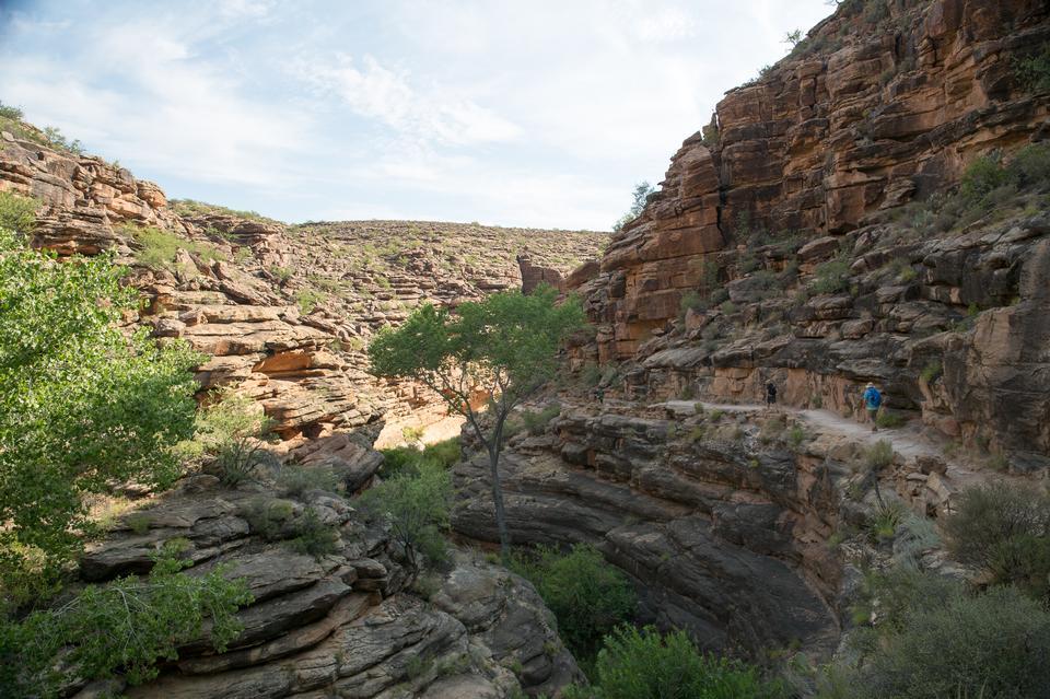 Sendero South Kaibab en Grand Canyon