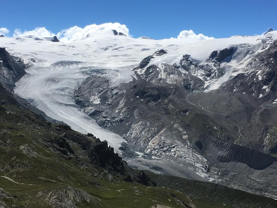 Trailing y senderismo en los Alpes y Suiza Zermatt