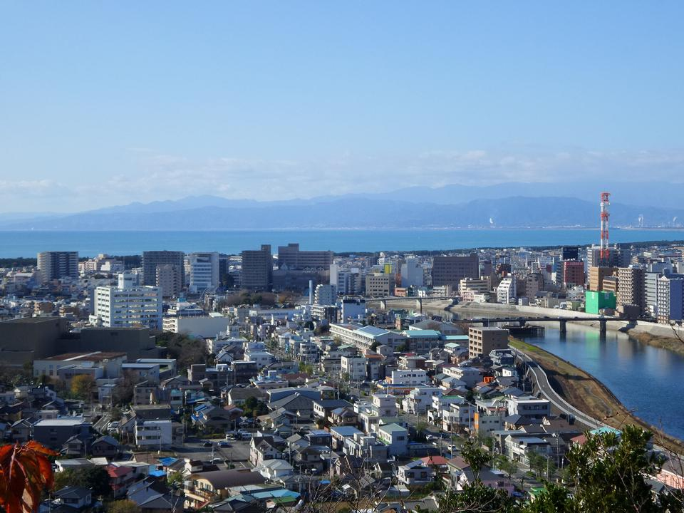 Нумадзу вид, Япония