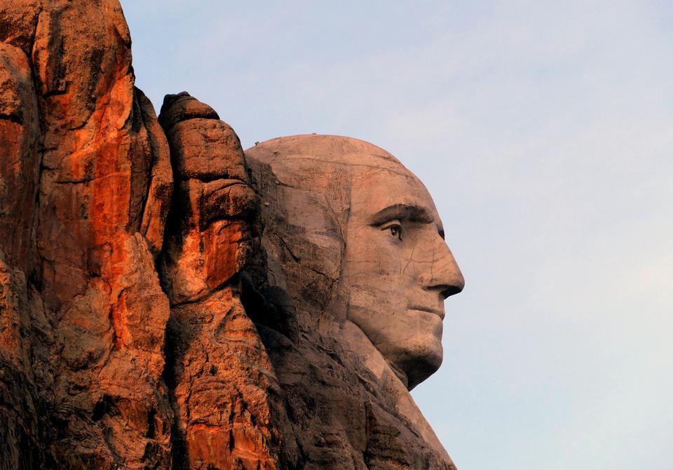 Mt. Rushmore National Memorial Park in South Dakota