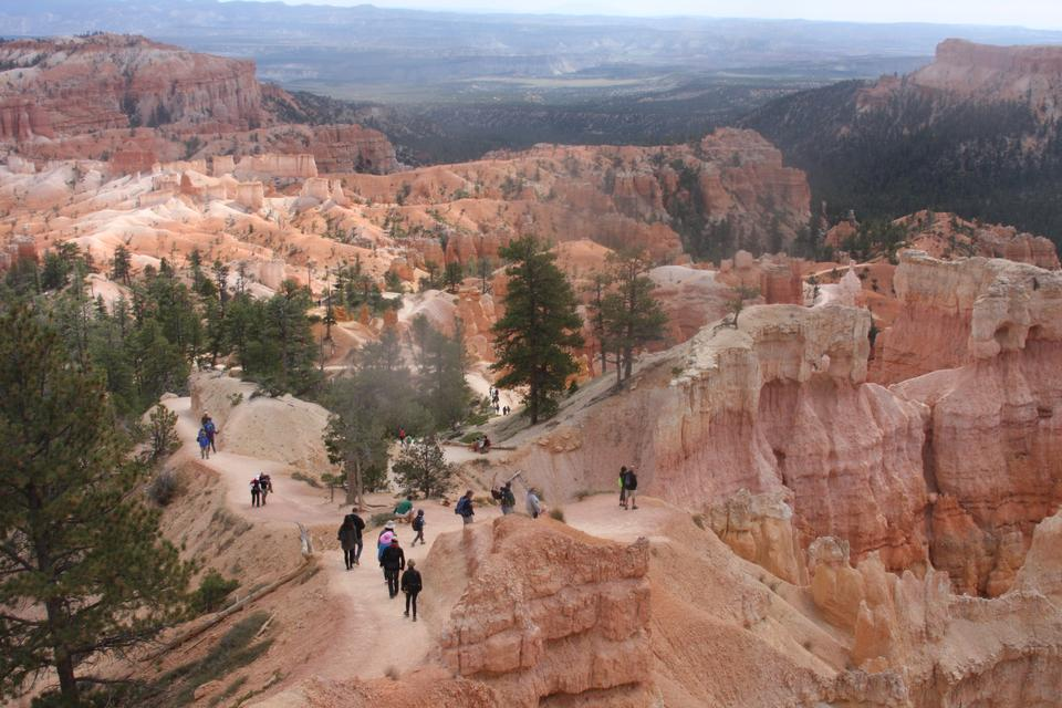 The Bryce Canyon National Park, Utah