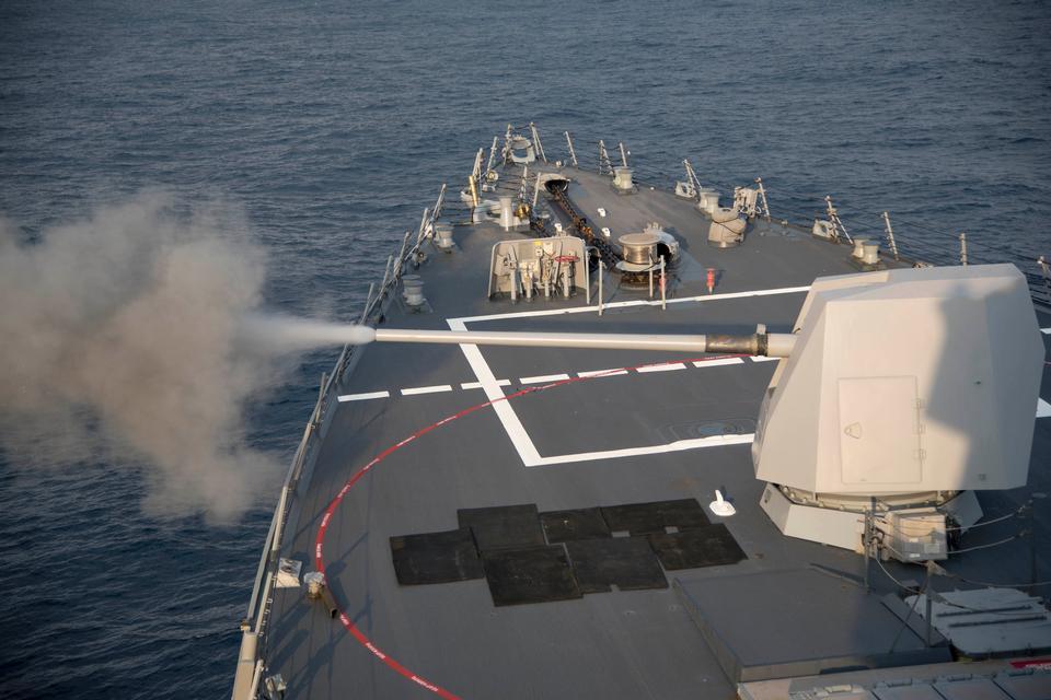 水手這艘導彈巡洋艦