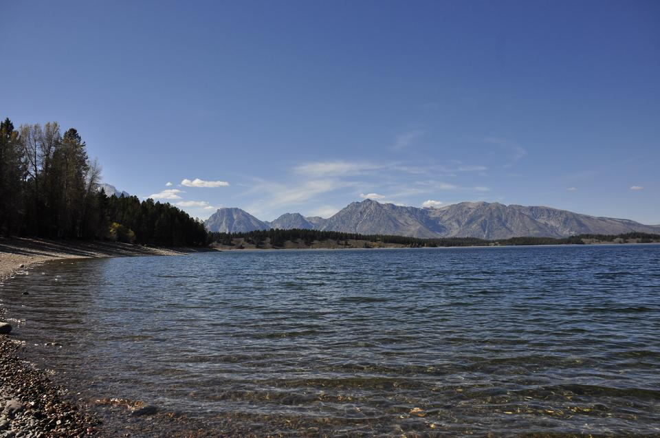 Jenny Lake at Grand Teton National Park, Wyoming