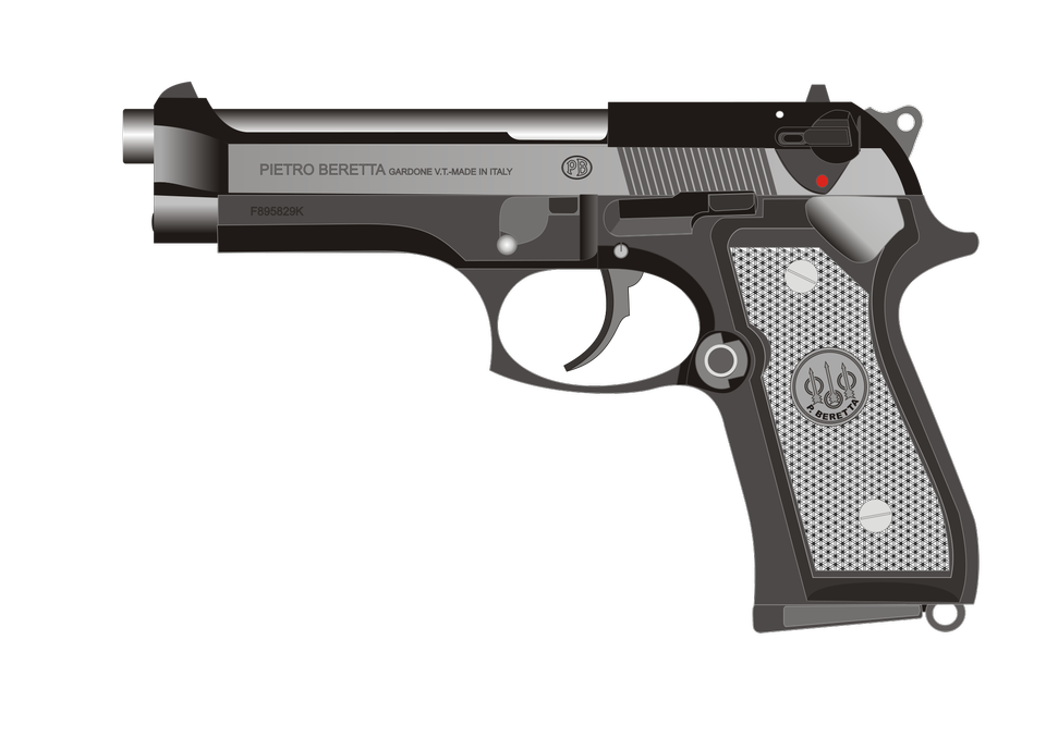 伯莱塔92FS手枪