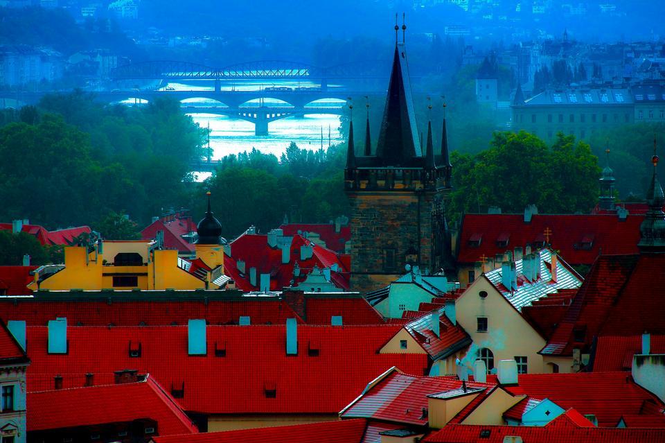 Praga arquitectura da cidade