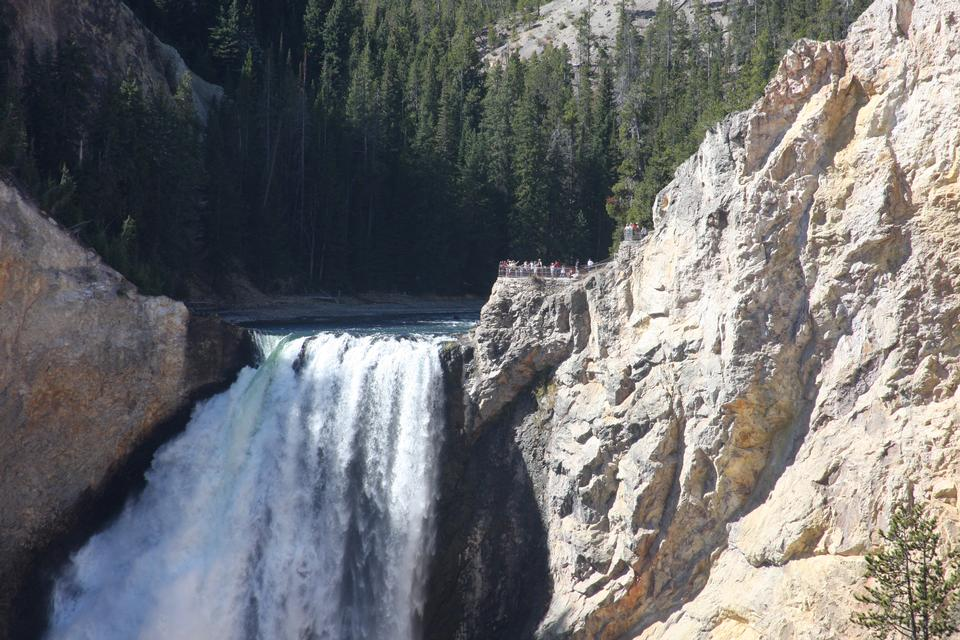 Lower Falls on the Grand Canyon of the Yellowstone