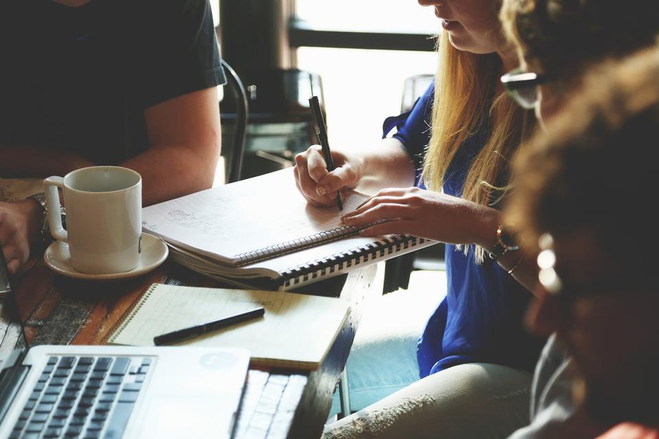 Equipo de Marketing de negocios concepto de la reunión