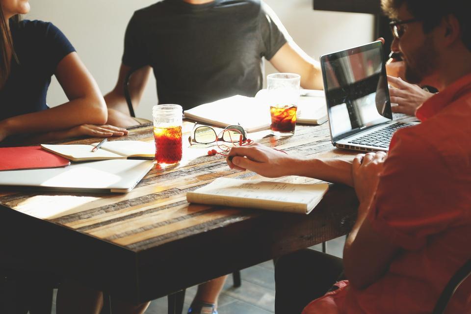 Business Team Meeting Applaud Concept