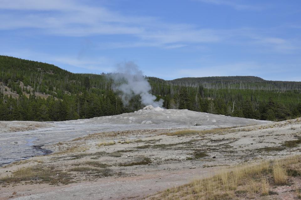 Grand Group Geyser, Upper Geyser Basin, Yellowstone