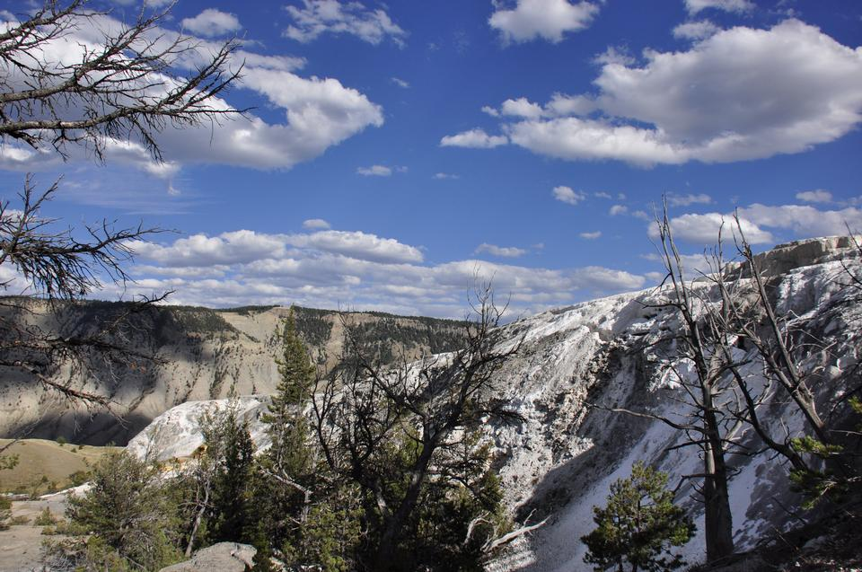Thermal Features at Yellowstone National Park
