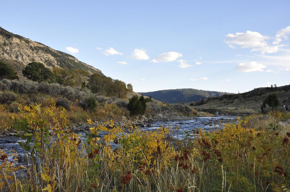 Caractéristiques thermiques du parc national de Yellowstone