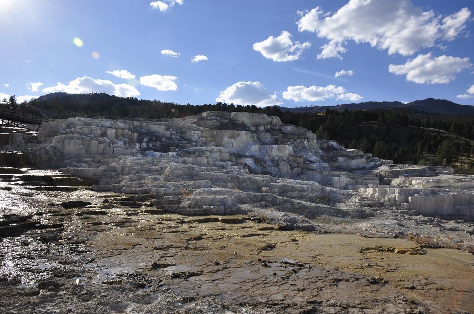 Caratteristiche termiche a Yellowstone National Park