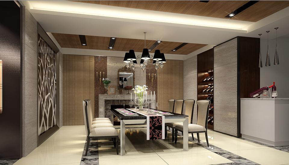 leather furniture in elegant modern lounge