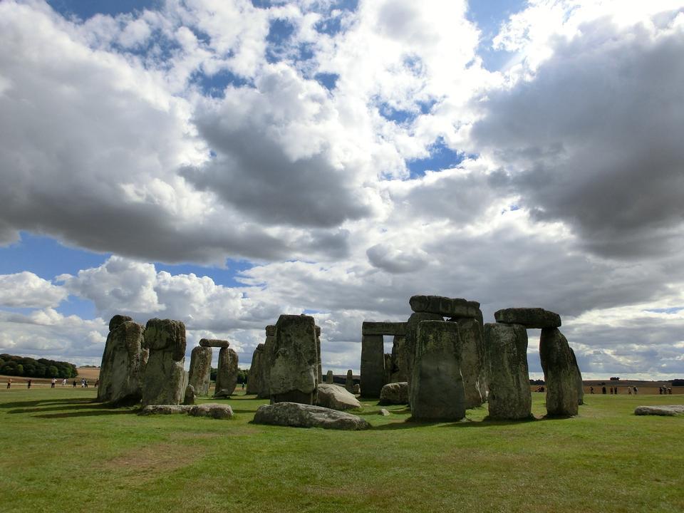 历史古迹巨石阵,英格兰,英国