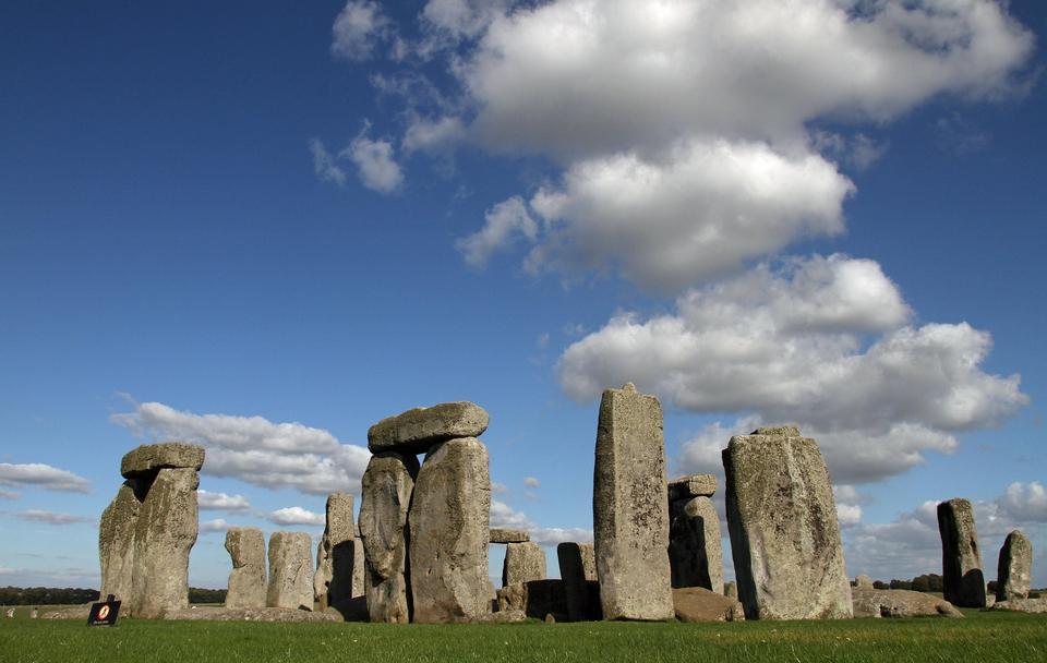 Stonehenge monument near Salisbury, UK