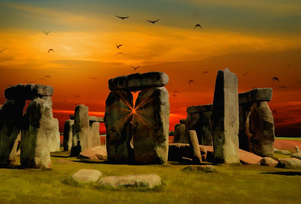 Stonehenge, Inglaterra. Reino Unido
