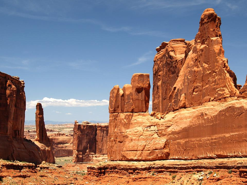 Arches National Park contiene la maggiore densità di naturale
